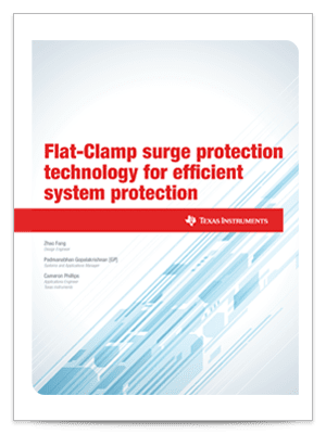 Flat-Clamp surge protection technology for efficient system protection