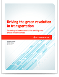 automotive green revolution transportation whitepaper cover sheet