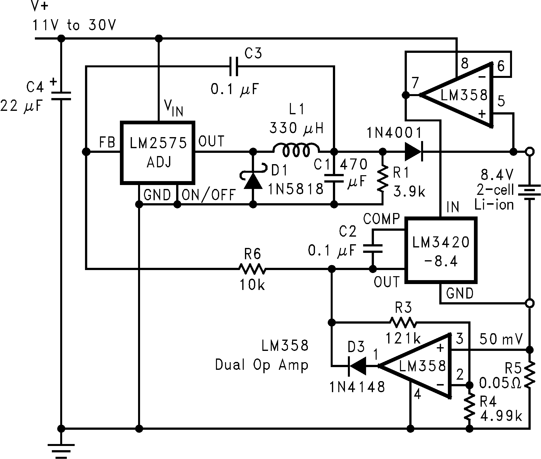 Lm3420 Current And Voltage In A Series Circuit 01235912