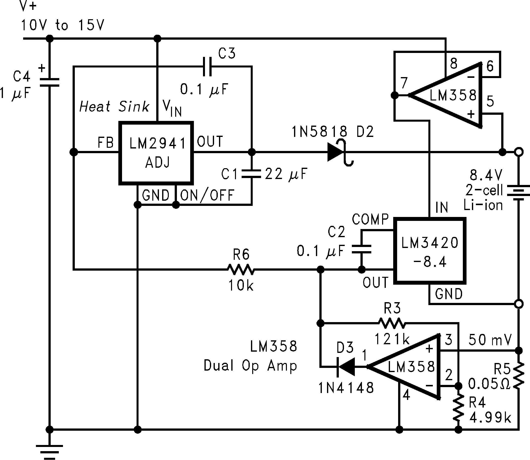 Lm3420 Current In Parallel Circuits The Total Flowing From Cell 01235913