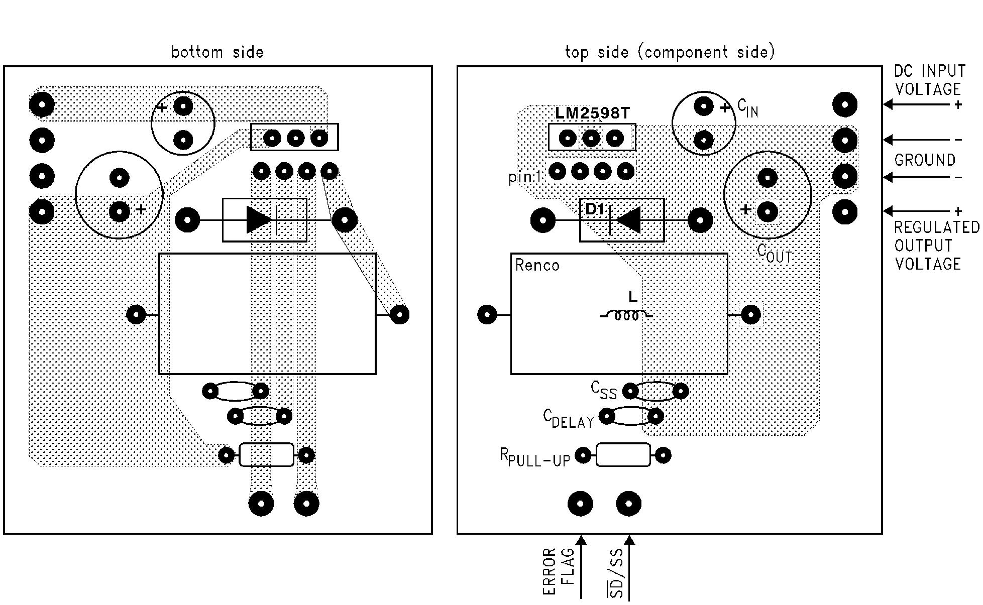 降压转换器 (集成开关)