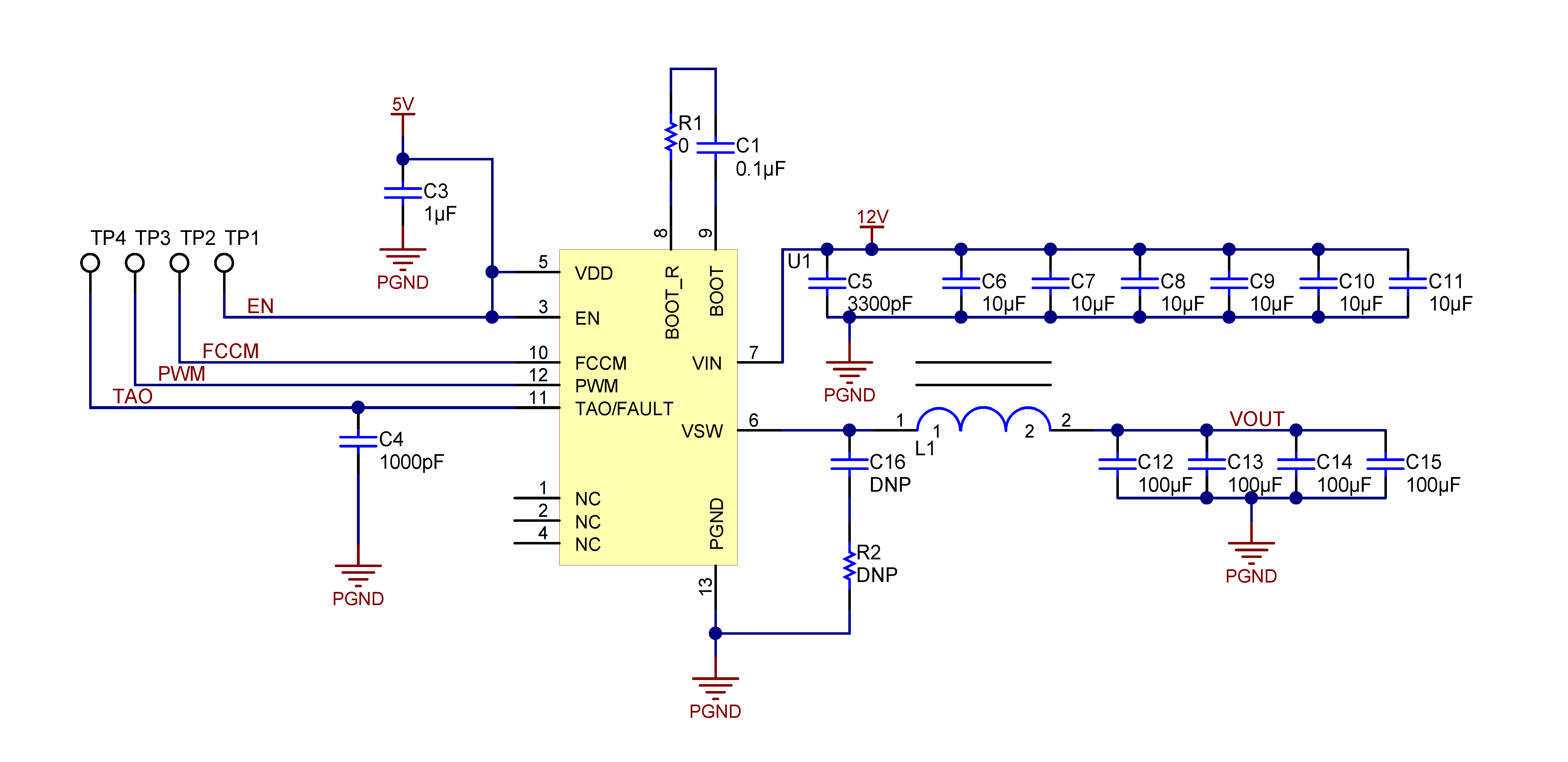 Csd95372aq5m Circuit Diagram And Pcb Layout 912 Recommended Design Overview
